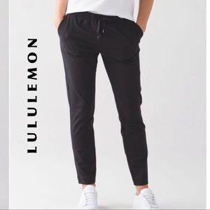 Lululemon Jet Pant Legging Trousers 10 NWT Black